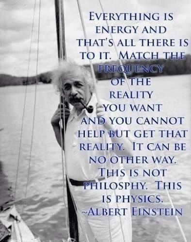 einstein everything is energy