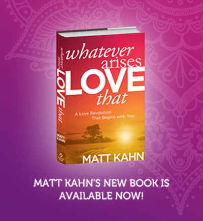 matt kahn new book