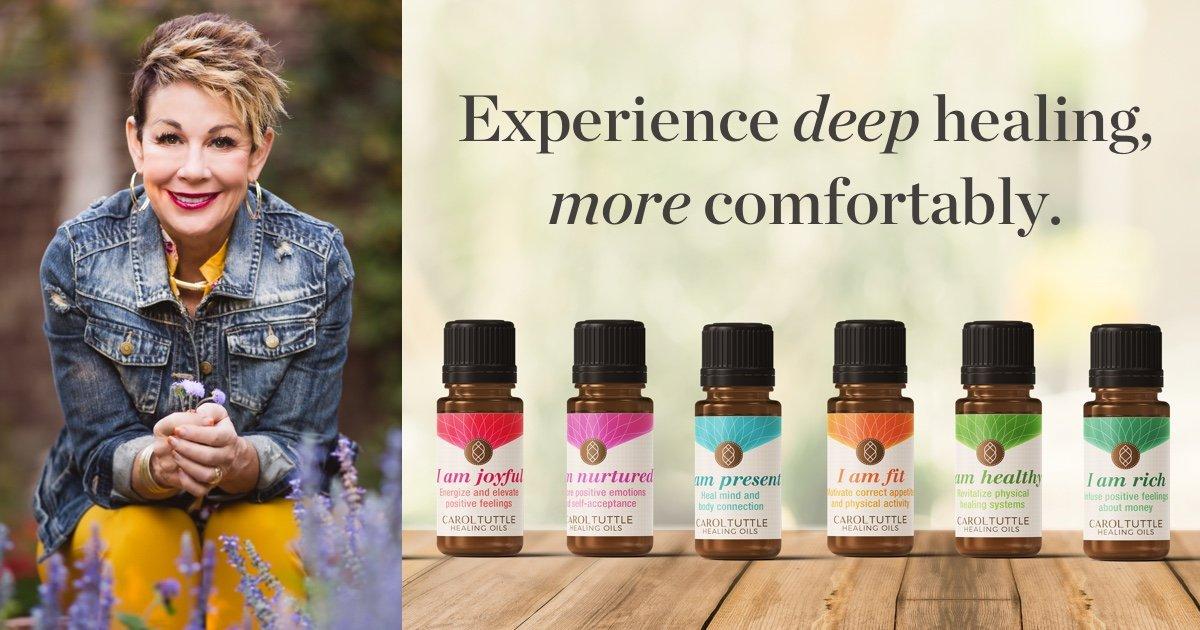 shop carol tuttle healing oils