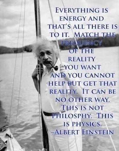 einstein everything is energy