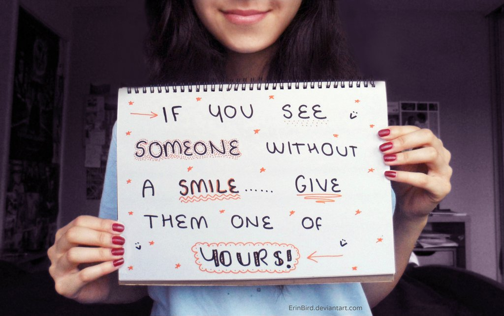 Give a smile