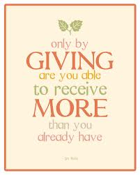 Quotes About Giving Famous Giving Quotes And Sayings