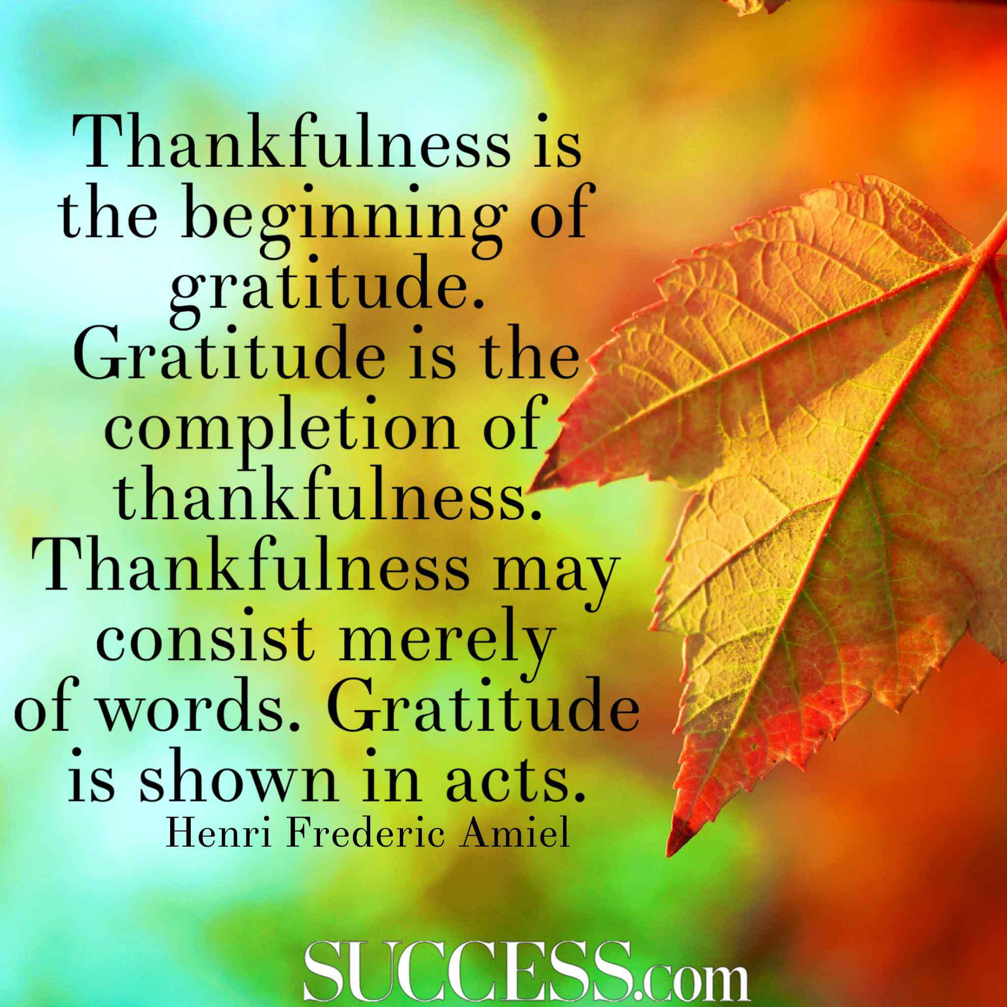Quotes Thankful: Famous Quotes About Gratitude